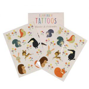 Tatuoinnit - kettu ja kaverit