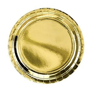 Pahvilautanen kulta 23 cm