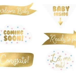 Photobooth baby shower kulta