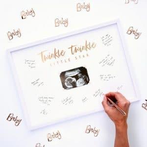 Twinkle Twinkle vieraskirjakehys