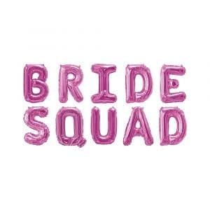 Bride Squad foliopallot