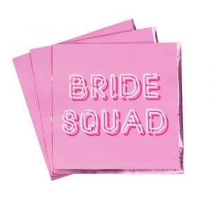 Bride Squad lautasliinat