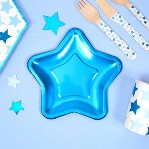 Tähtilautanen sininen pikkutähti
