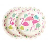 Pahvilautaset Flamingo