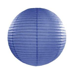 paperilyhty sininen