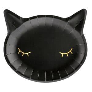 Lautaset musta kissa