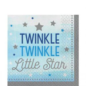 Twinkle little star vaaleansiniset lautasliinat