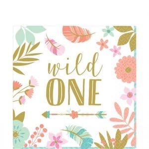 Boho Wild One lautasliinat
