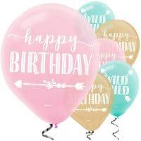 Happy Birthday pastellipallot