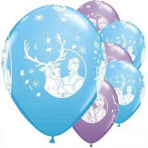 Frozen sini-lila ilmapallomix