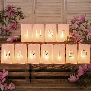 Just married paperilyhdyt