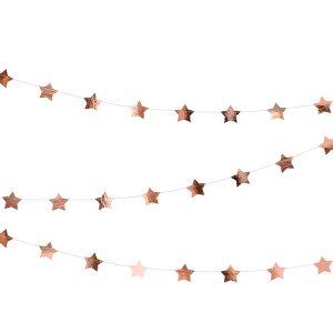 Ruusukultainen tähtinauha 3,6 m