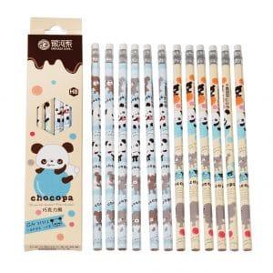 Kynät - sininen panda