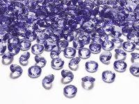 Timanttikonfetit 12 mm violetti