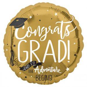 Congrats Grad foliopallo