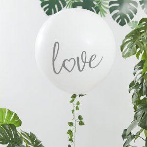Love jätti-ilmapallo