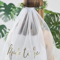 Bride to be huntu eukalyptuspannalla