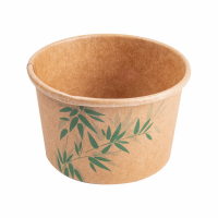 Herkkukippo kartonki bambukuviolla