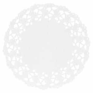 Minikakkupaperit valkoinen