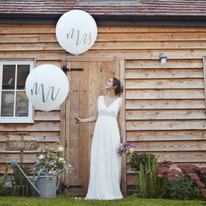 Mr & Mrs jätti-ilmapallot
