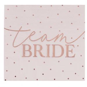 Team Bride Pilkulliset lautasliinat