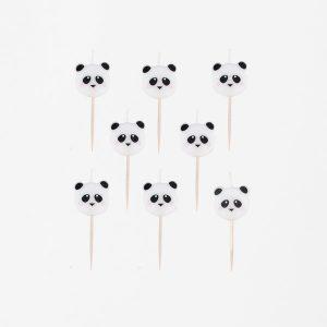 Panda kakkukynttilät