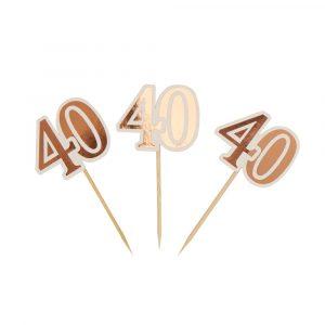 Herkkutikut 40 v ruusukulta