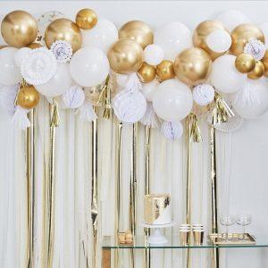 Kulta-valkoinen pallomix