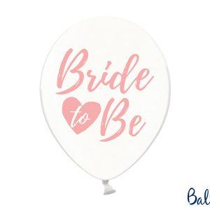Bride to be kirkkaat pallot pinkillä tekstillä