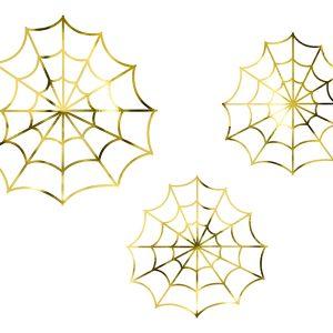 HÄmähäkinverkkokoristeet kulta