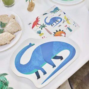 Dino paperilautaset