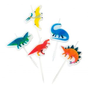 Dinosaurus kakkukynttilät