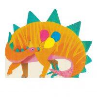 Dinosaurus muotoillut lautasliinat