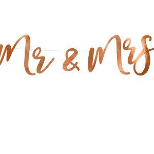 Mr & Mrs ruusukultainen viiri