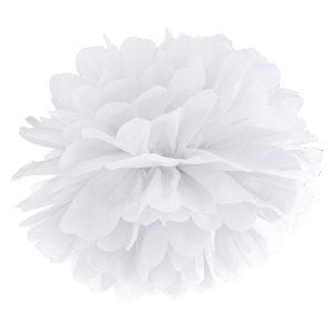 Valkoinen pompom