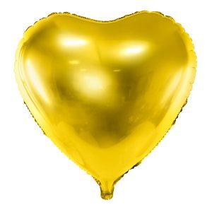 Foliopallo kultasydän