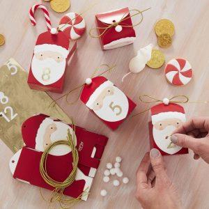 DIY joulukalenteri joulupukki