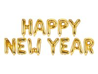Happy new year foliokirjaimet