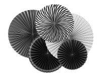 Paperiviuhkat musta mix