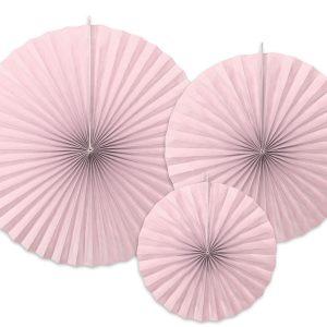 Paperiviuhkat utuinen roosa