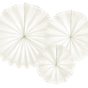 Pitsireunaiset paperiviuhkat kerma