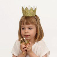 Glitterkruunu kulta