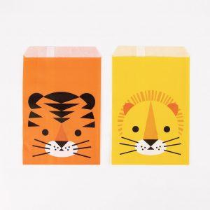 Paperipussit viidakon eläimet