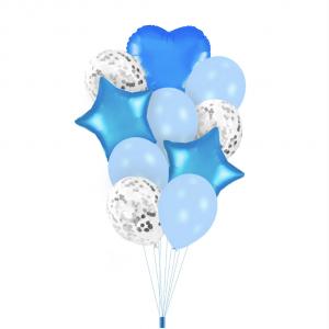 Ilmapallokimppu sininen