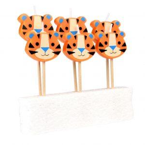 Kakkukynttilät tiikeri