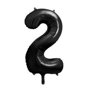 Musta numerofoliopallo 2