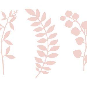 Paperiset oksat vaaleanpunainen