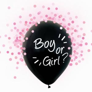 Boy or girl pieni lateksipallo tytölle