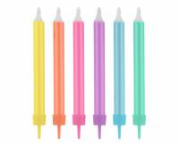 Kakkukynttilät värimix jumbo