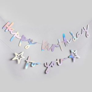 """Happy Birthday To You"" banneri"